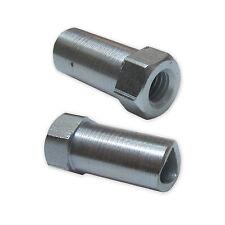 2 x Bremszug Bowdenzug Einstellmutter Stellmutter Universal mit M6x23mm Gewinde