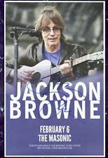 Jackson Browne autographed gig poster