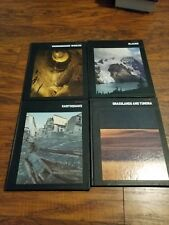 Partial set of 11 Time Life Planet Earth color geology series Flood Earthquake