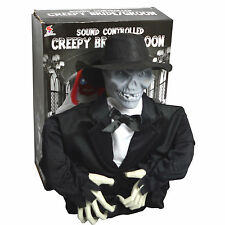 VOICE CONTROLLED SKELETON GROOM | Halloween Party decoration Scary Toy Prop