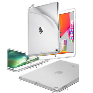 "Clear Gel Slim Case Cover for iPad 9.7"" 2017 2018 Pro iPad 234 Air & Air 2 Mini"