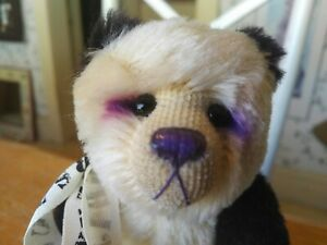 Ltd. Edition Cotswold Bear Co. mohair Artist Teddy Bear Panda England UK 9in EUC