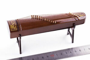 1/6 Scale Ancient Musical Instruments GuZheng Model Toy Scene Accessories