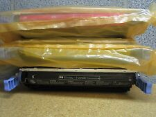 Lot Of 3 GENUINE HP C9720A C9722A C9723 Toner Cartridge Out Of Box 1 Out Of Bag