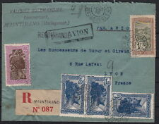 Lettre Madagascar Maintirano Recommandé 1935 Cover