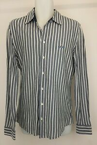 MAN by Vivienne Westwood  Vertical Striped Shirt Collared Button Down