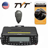 TYT TH-9800 50W 809CH Quad Band Dual Display Reapter Car Ham Transceiver Radio