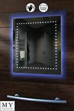 LED ILLUMINATED BATHROOM MIRROR 600 X Mm DEMISTER SENSOR