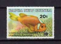 14685) Papua & New Guinea 1989 MNH Fishes Ovptd – Fish