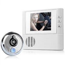"""2.8"""" LCD Digital Peephole Viewer Door Eye Doorbell Video Color IR Camera 806 F5"""