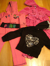 Kids clothing Lot Size 4T Baby Phat Puma Yoga Dance Gym jacket pants Set girl 4