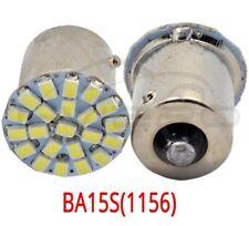 4 Ampoules LED P21W BA15s 13 SMD blanc Lampe Feux Stop diurne Recul Arrière 12V
