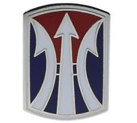 US Army 11th infantry Brigade WWI / Vietnam Hat or Lapel Pin H14882hD71