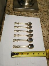Small Gold-color Stainless Steel Spoons (6)