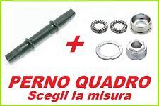 Perno Movimento Centrale QUADRO + Calotte Movimento ITA / ING bicicletta -SCEGLI