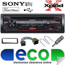 Peugeot 206 Sony CDX-G1200U CD MP3 USB Aux-In Ipod Iphone Car Radio Stereo Kit