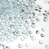 Wholesale Lot 4.5mm Round Faceted Natural Aquamarine Loose Calibrated Gemstone