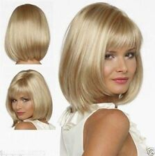 JIAFA456  New short Straight blonde mix Wigs for women Hair wig wig