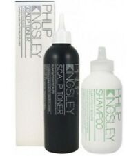 Philip Kingsley Flaky Itchy Scalp Shampoo and Toner Healthy Hair 2 Products