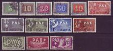 Briefmarken aus der Schweiz mit Geschichts-Motiv