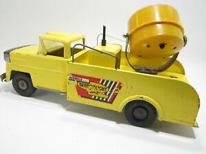 Vintage 1950's Marx's AllState Mobile Searchlight Unit Toy Truck - Original