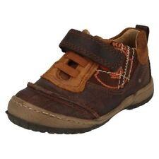 Chaussures décontractées à lacets en cuir pour garçon de 2 à 16 ans