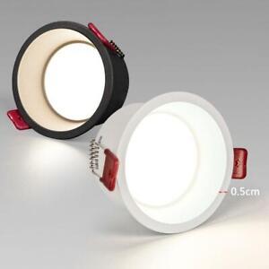 Deep Anti-glare LED Downlight 5W 9W 12W 15W 20W Recessed Dimmable Wall light