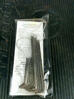 LANG Tools Kastar USA 3074 Feeler Gauge Set Heavy Truck Valve Adjust 23 Blades