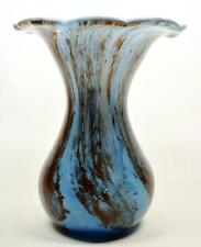More details for vintage alum bay isle of wight glass vase labelled