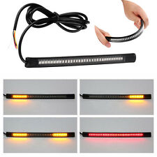 Universal Flexible Light Strip 48LED Motorcycle Car Tail Brake Stop Turn Signal