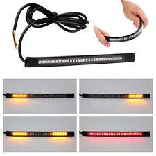 2016 Flexible Motorcycle Soft Light Strip 48 LED Tail Brake Stop Turn Lamp 12V