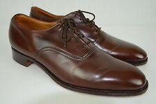 Church's Custom Grade Brown Dress Shoes Formal Mens 10.5C England RARE Luxury
