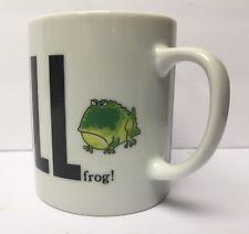 Bullfrog BULL Coffee Mug Green Frog George Good Japan Great Gift Idea