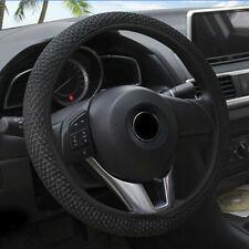 Noble Car Steering Wheel Cover Microfiber Leather Breathable Anti-slip 15''/38cm