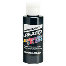 2oz Createx Tinting Black Transparent 5132 - 2Z Airbrush Paint Color