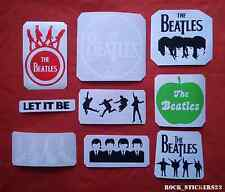 The Beatles stickers without background vinyl cars,guitar,laptop set 9