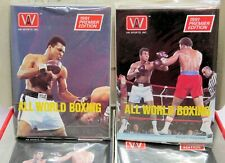 Muhammad Ali, 1991 All World Boxing Trading Card PACK, Fresh From Box