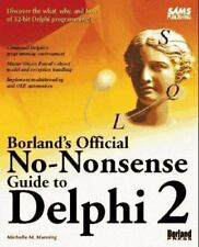 Borland's Official No-Nonsense Guide to Delphi 2 Manning, Michelle M. Paperback