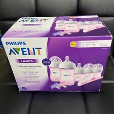 Philips AVENT Natural Baby Bottle Set Newborn Starter Gift Set Open Box
