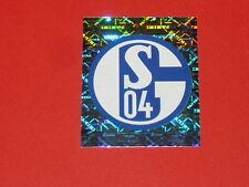 N°414 WAPPEN BADGE SCHALKE 04 PANINI FUSSBALL 2007-2008 BUNDESLIGA FOOTBALL