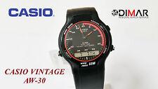 VINTAGE CASIO AW-30-4EV QW.306 WR.50M ANA/DIGI (SIN CAJA ORIGINAL)