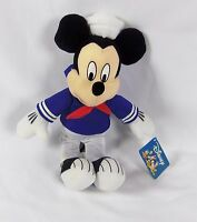 "Toy Factory Disney 14"" Stuffed Plush Mickey Mouse w/ Tag"