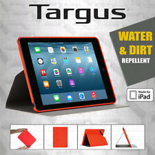 Targus EverVu Water/Dirt Repellent Slim Folio Stand Case for Apple iPad Air 2