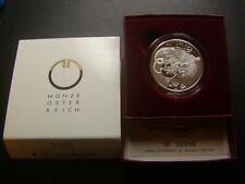 10 Euro 2009 Basilisk Österreich PP Silber W/20/553