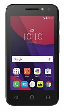 Alcatel PIXI 4 (4), 10,2 cm (4 Zoll), 4 GB, 3 MP, Android, 6.0, Schwarz