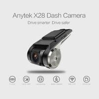 X28 HD 1080P 150° FOV Dash Cam Car DVR Camera Recorder WiFi ADAS G-sensor _fr