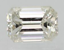 0.17 Carat D Color SI2 Emerald Natural Loose Diamond For Jewelry 4.10X2.41mm