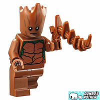 100% LEGO Teen Groot Minifig from 76102 Thor's Weapon Quest Marvel Super Heroes