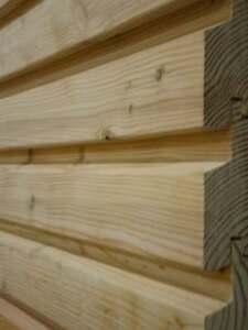 Lärchen Rautenprofilbretter 34x96 mm Profilholz Rhombusleisten
