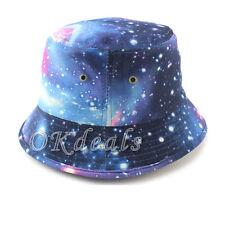 New Bucket Boonie Galaxy Hunting Fishing Outdoor Cap Unisex Summer Beach Hats